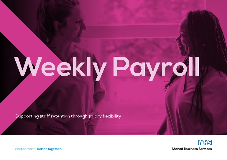 Weekly Payroll brochure