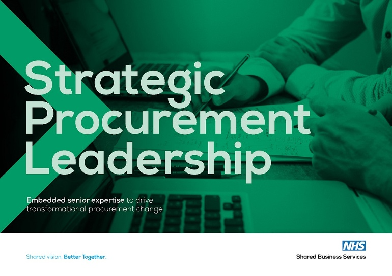 Strategic Procurement Leadership brochure image